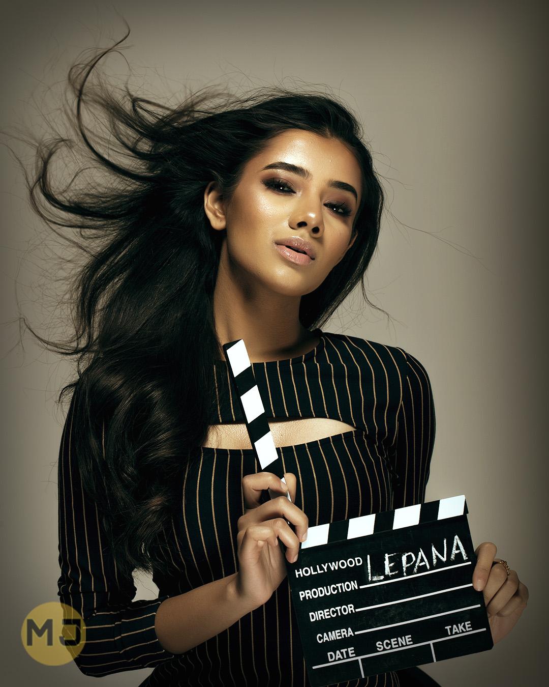 Editorial Makeup of a beautiful model - Professional Makeup