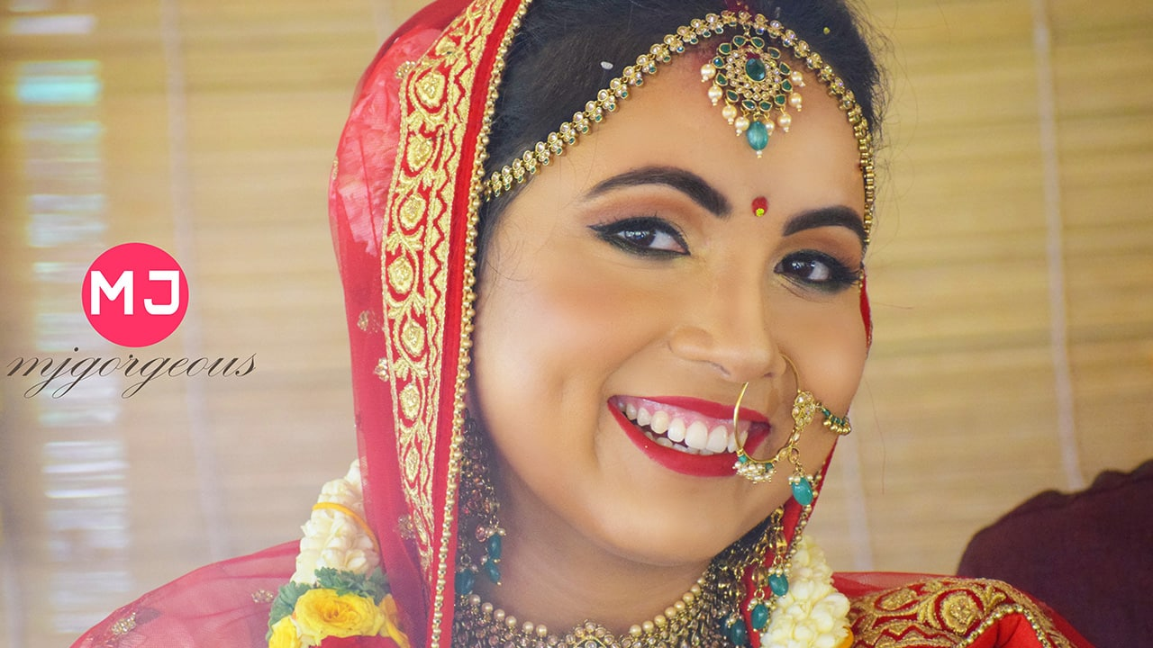 North Indian Bride by MJ Gorgeous